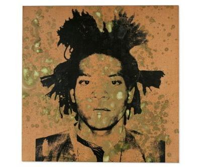 A Rare Andy Warhol Silkscreen of Jean-Michel Basquiat Will Hit Auction This November