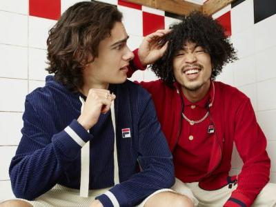 Rankin Lenses the New Oliver Spencer and FILA Collab