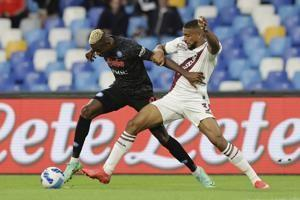 8 for 8: Napoli extends perfect start with Osimhen's header
