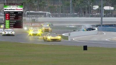 Five-Time 24 Hours Of Daytona Winner Spins Out In Hour Two Of This Year's Race