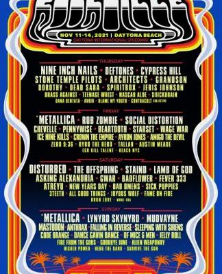 METALLICA, NINE INCH NAILS And DISTURBED To Headline This Year's WELCOME TO ROCKVILLE Festival
