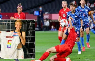 Non-binary women's footballer who is first openly trans athlete at Olympic Games says they feel 'proud' but 'aware of realities'