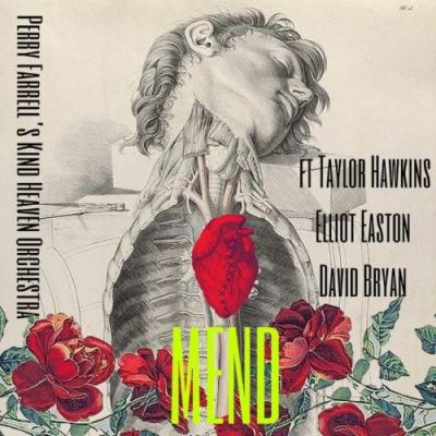 PERRY FARRELL Teams Up With TAYLOR HAWKINS And DAVID BRYAN For New KIND HEAVEN ORCHESTRA Single 'Mend'