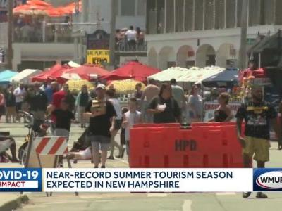 Near-record summer tourism season expected in NH