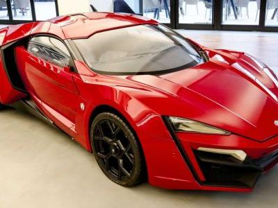 You Could Buy The Only Remaining Lykan HyperSport F&F Stunt Car