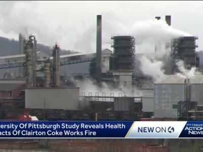 Christmas Eve 2018 Clairton Coke Works fire made asthma worse for sufferers nearby