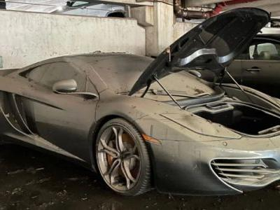 This Poor McLaren MP4-12C Got Submerged In Detroit's Floods And We Can Fix It