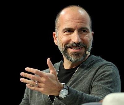 Uber CEO: CEOs are paid too much