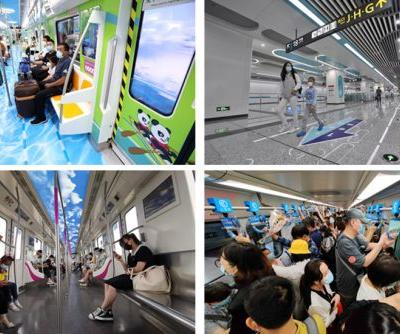 Top 10 Chinese cities by subway mileage