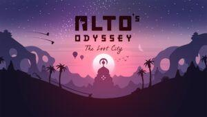 Alto's Odyssey: The Lost City is now available on Apple Arcade