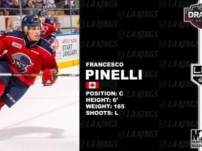 LA Kings Select Francesco Pinelli No. 42 - What You Need to Know
