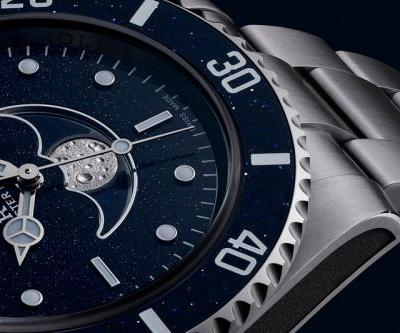Artisans de Genève Adds Moonphase to a Rolex Submariner For Controversial Sea Shepherd Founder