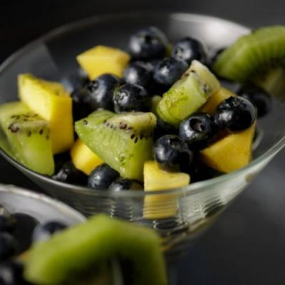 Blueberry Salad with Tequila